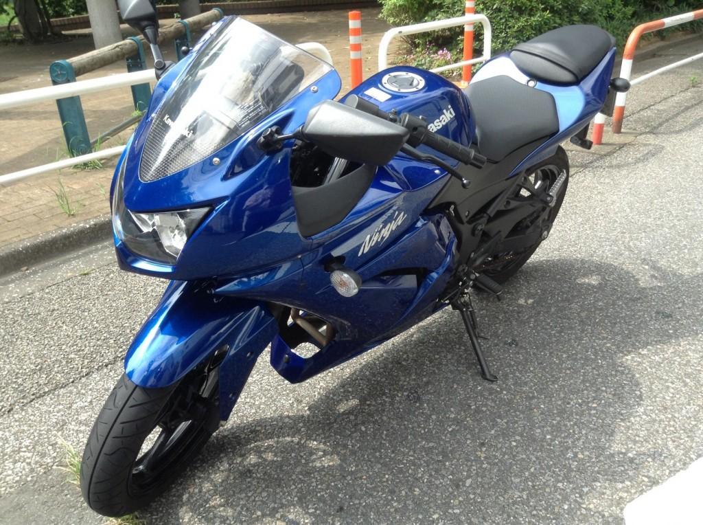 レンタルバイクを借りた