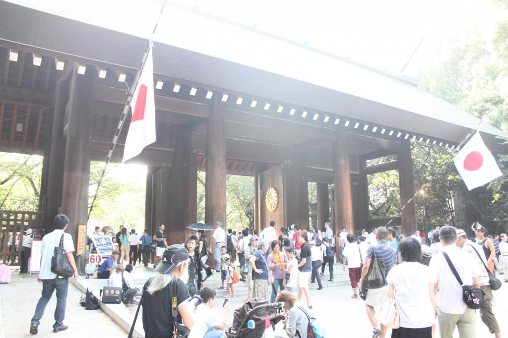 靖国神社の正門
