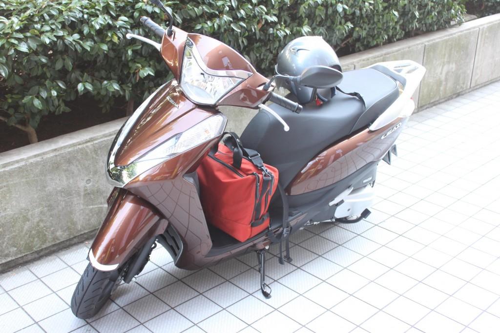 バイク一人旅のスタート地点