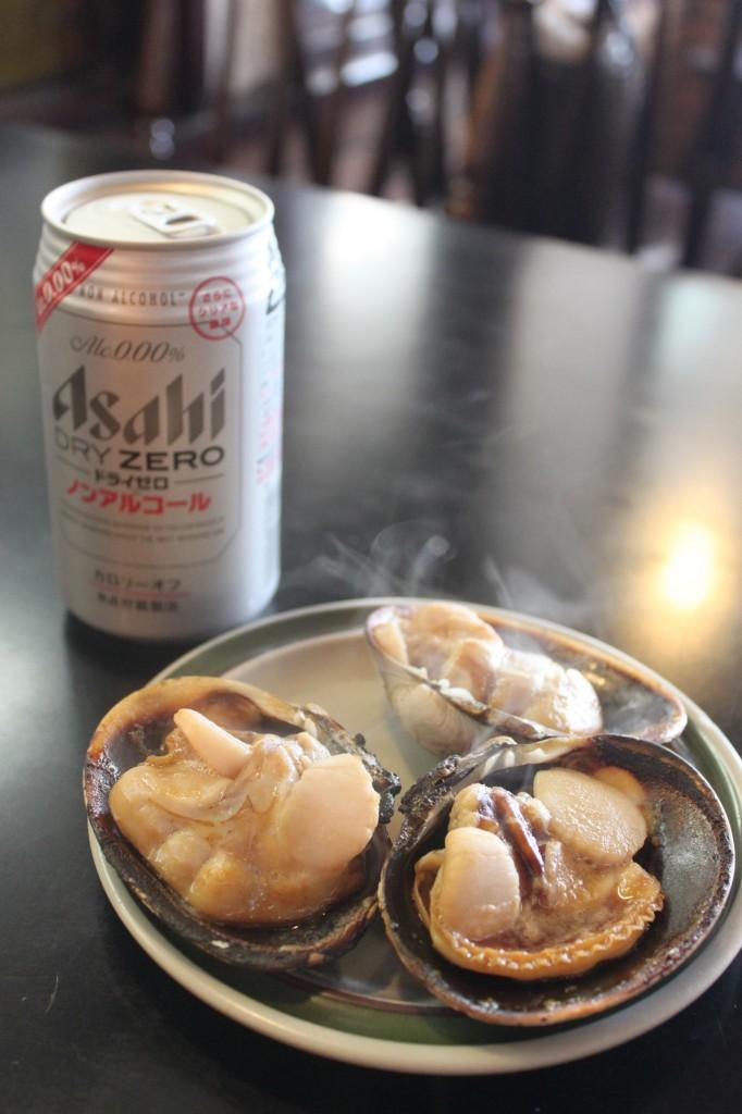 伊良湖岬の大アサリ