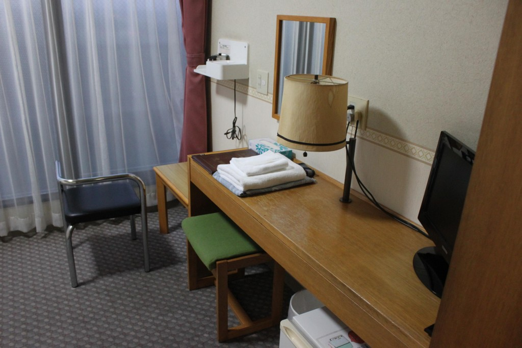 ビジネスホテルの館内