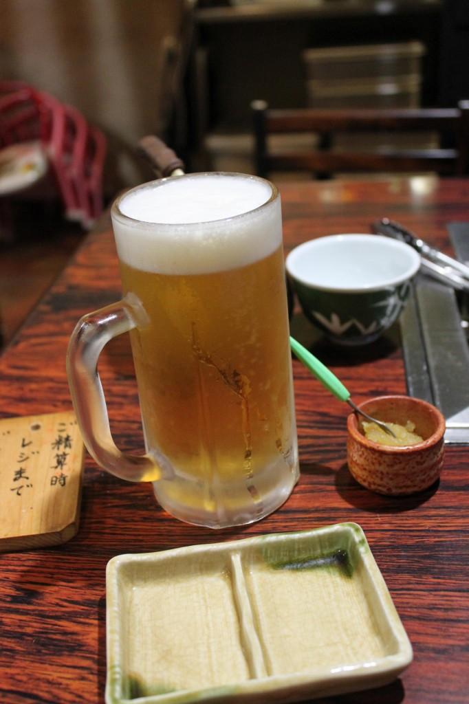 伊勢の生ビール