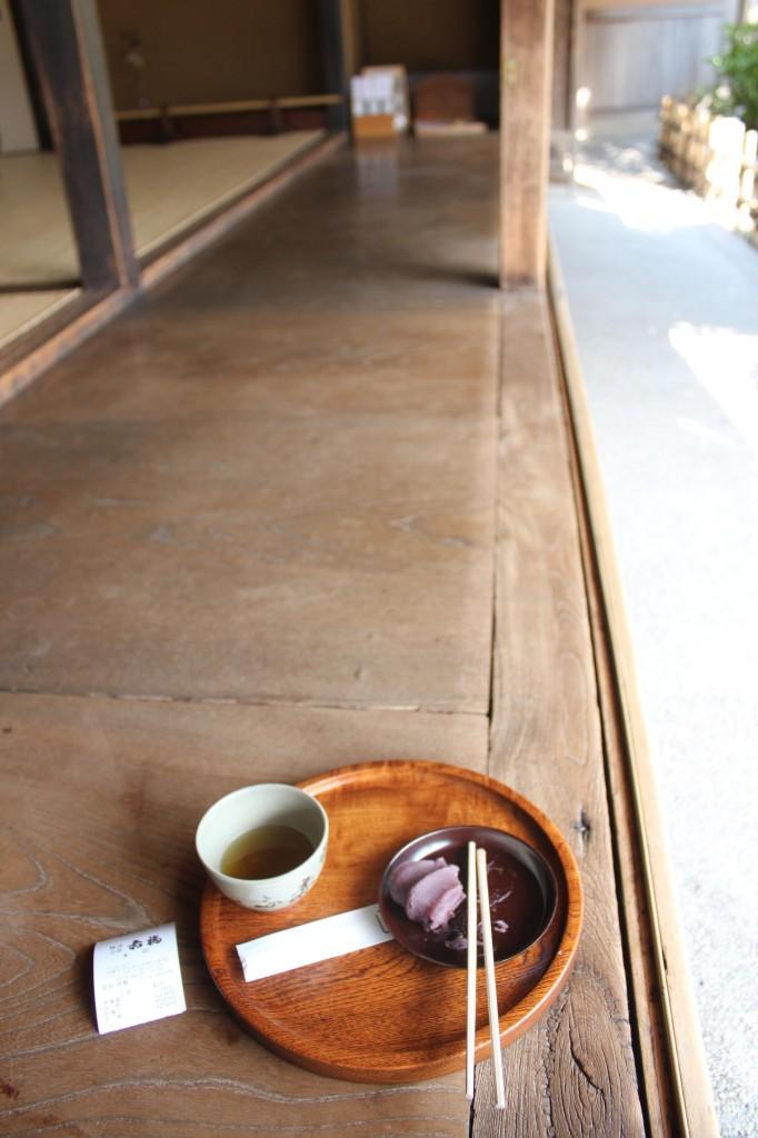 伊勢神宮の赤福本店で食事