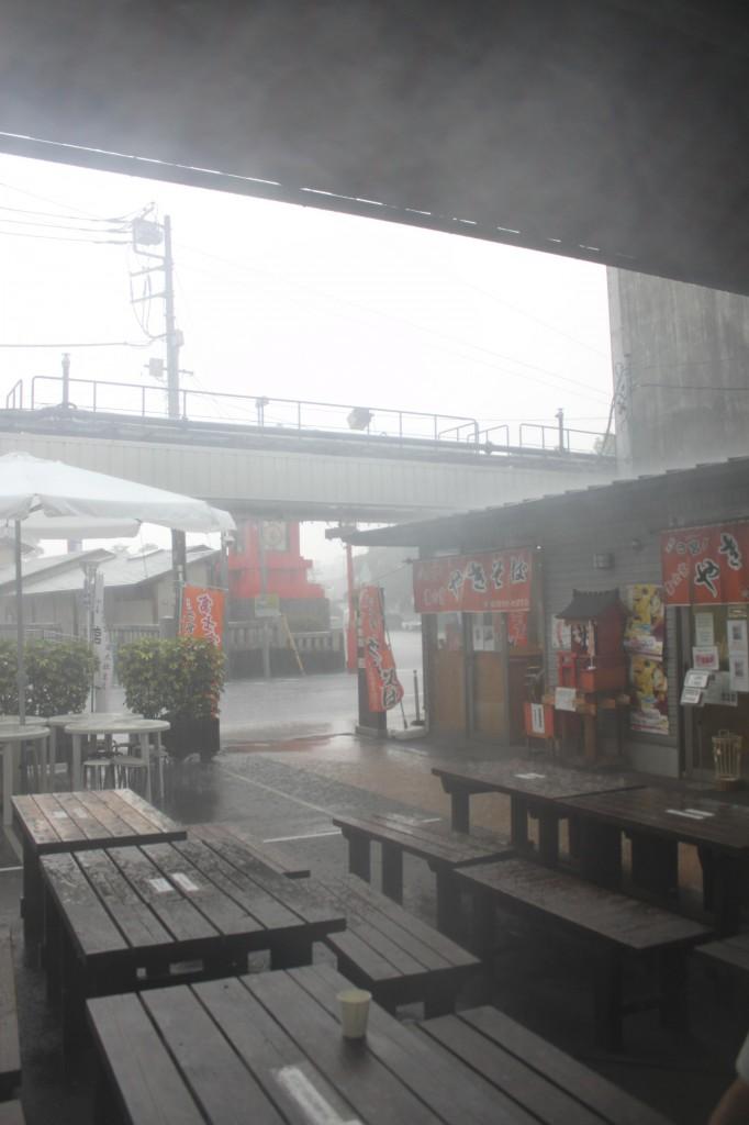 富士宮は大雨だよ