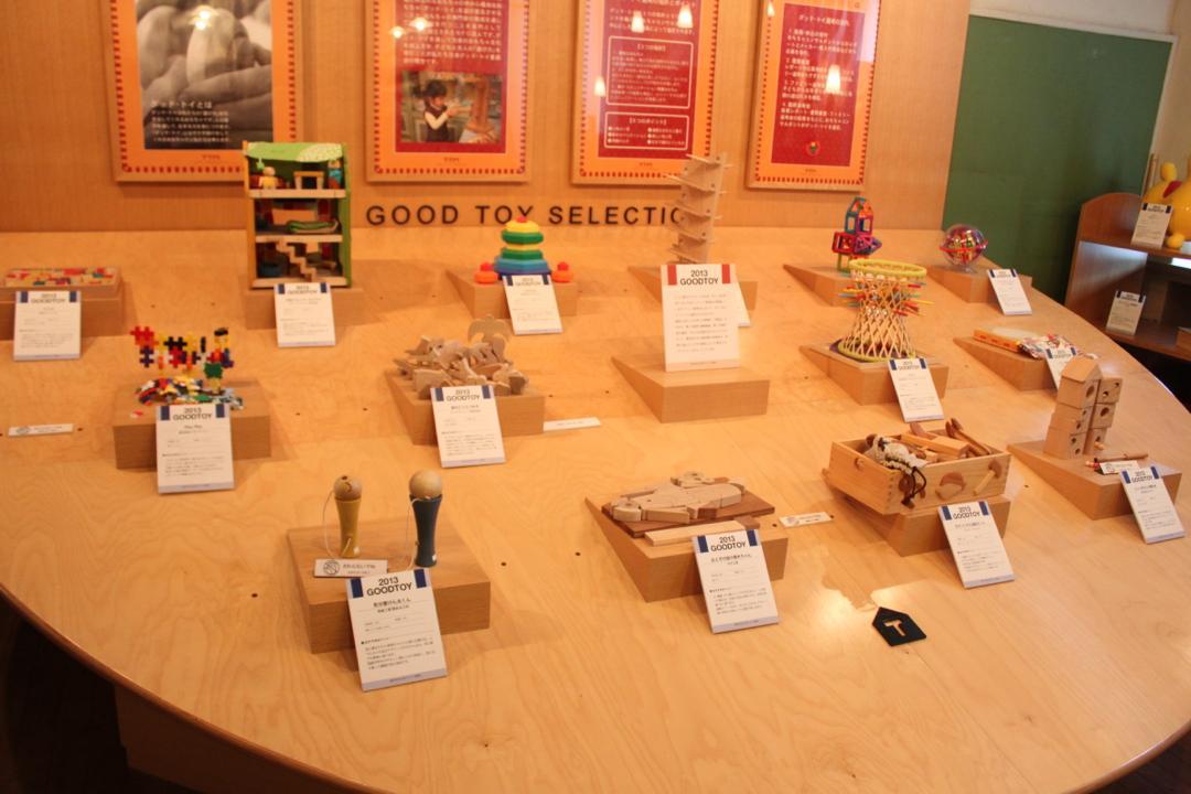 東京おもちゃ美術館の展示