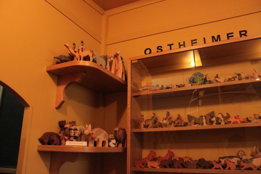 東京おもちゃ美術館の木製パズル