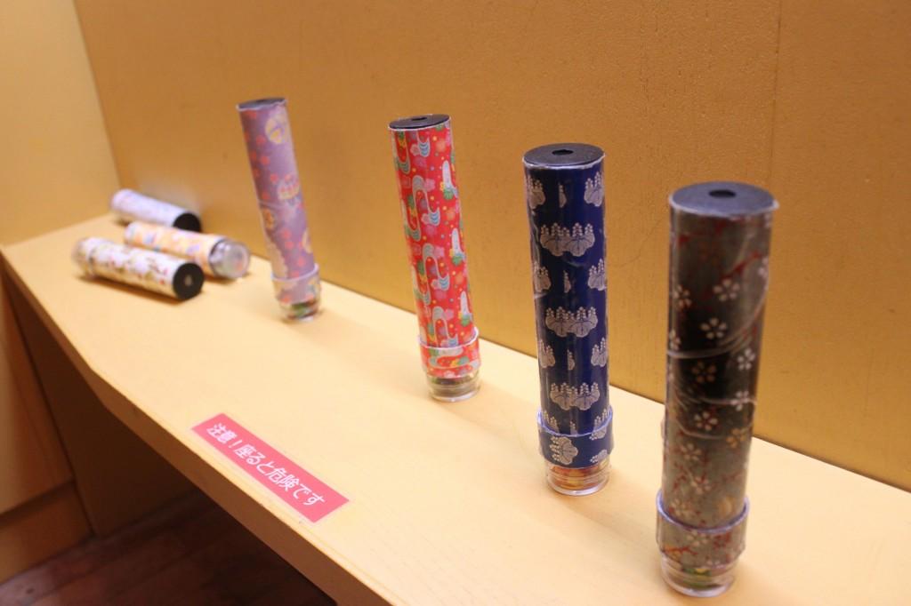 東京おもちゃ美術館の万華鏡