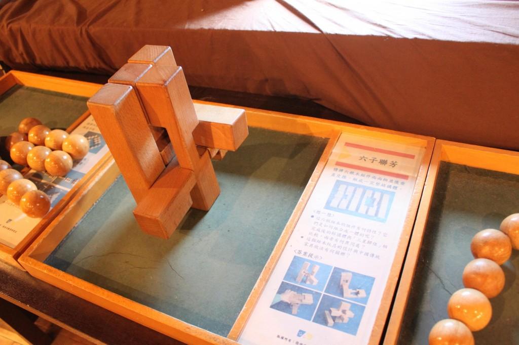 東京おもちゃ美術館の木製遊具