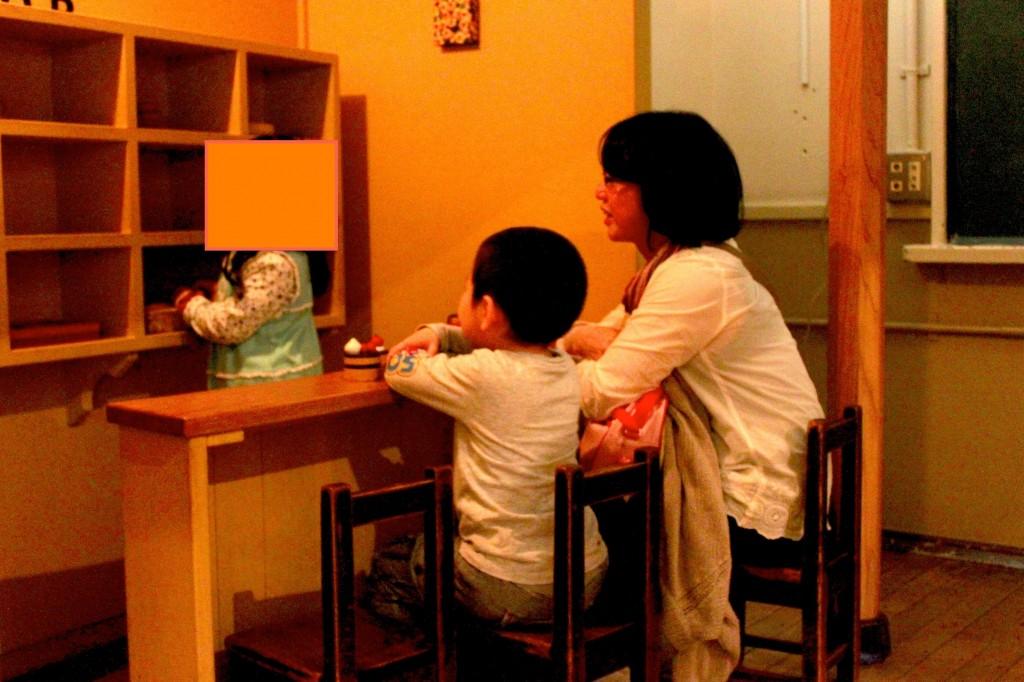 東京おもちゃ美術館のお店屋さんごっこ