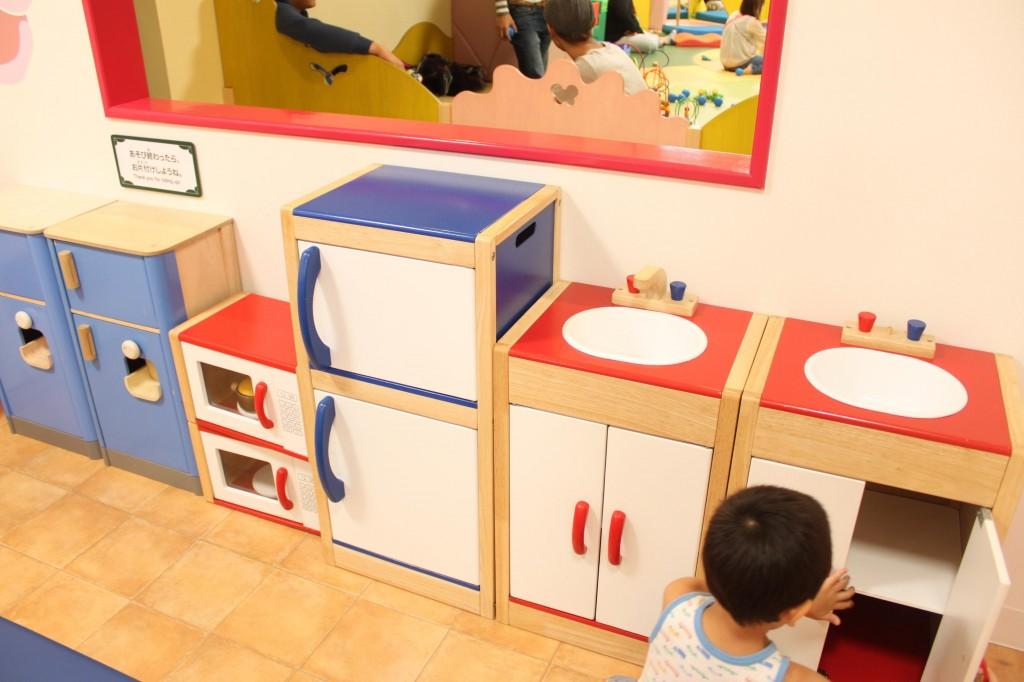アソボーノのキッチン遊び