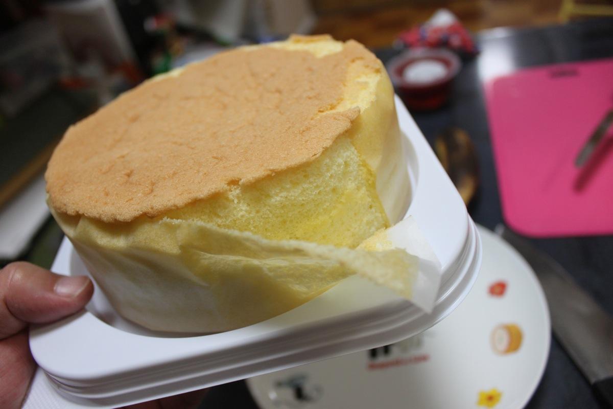 ルタオの手作りケーキセットを開封