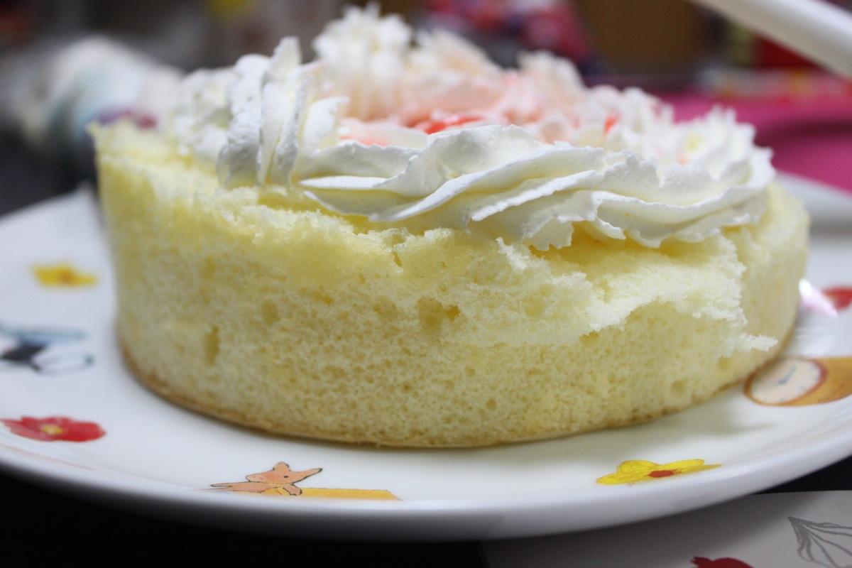 ルタオの手作りケーキセットのトッピング