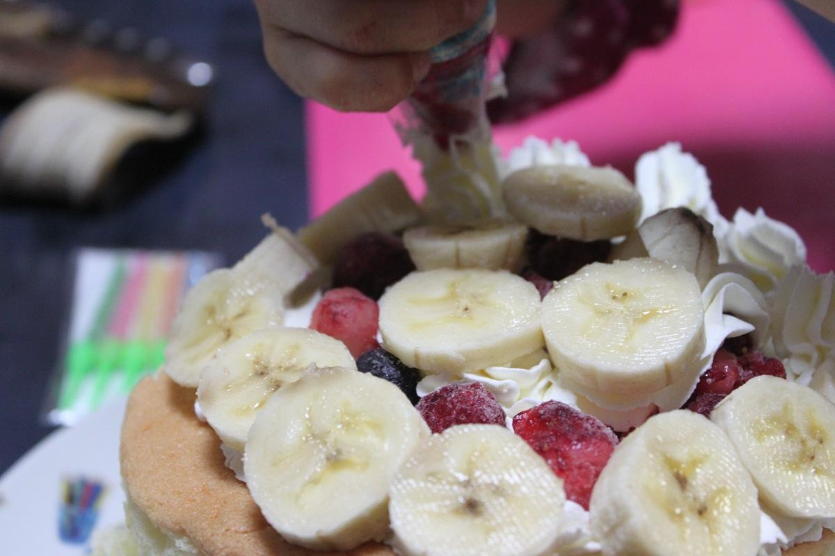 ルタオの手作りケーキセットのフルーツレシピ