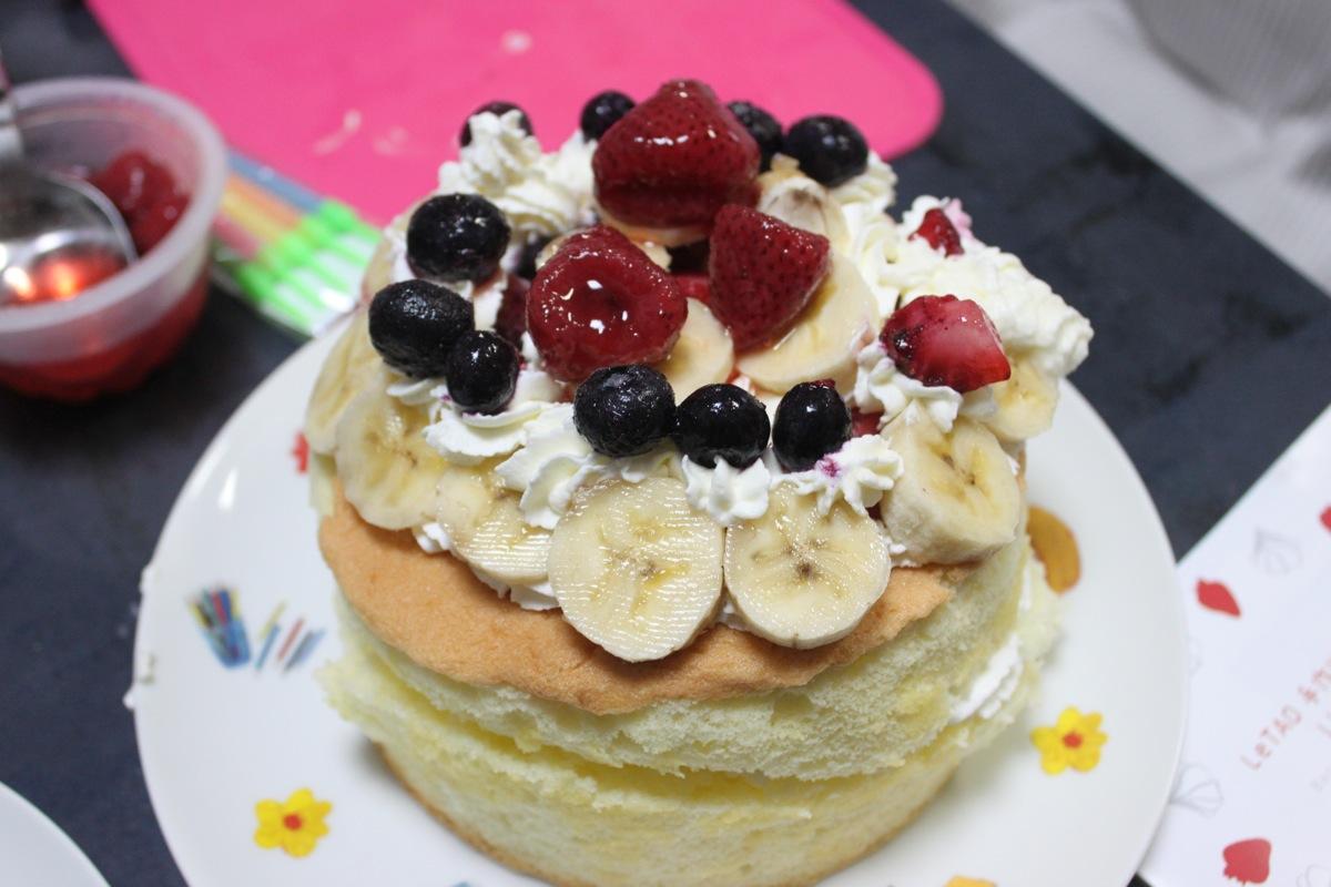 ルタオの手作りケーキ
