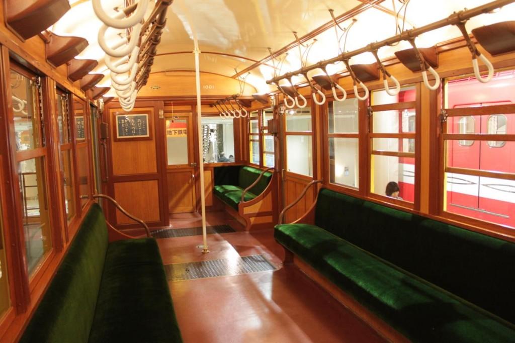 地下鉄博物館の乗車体験