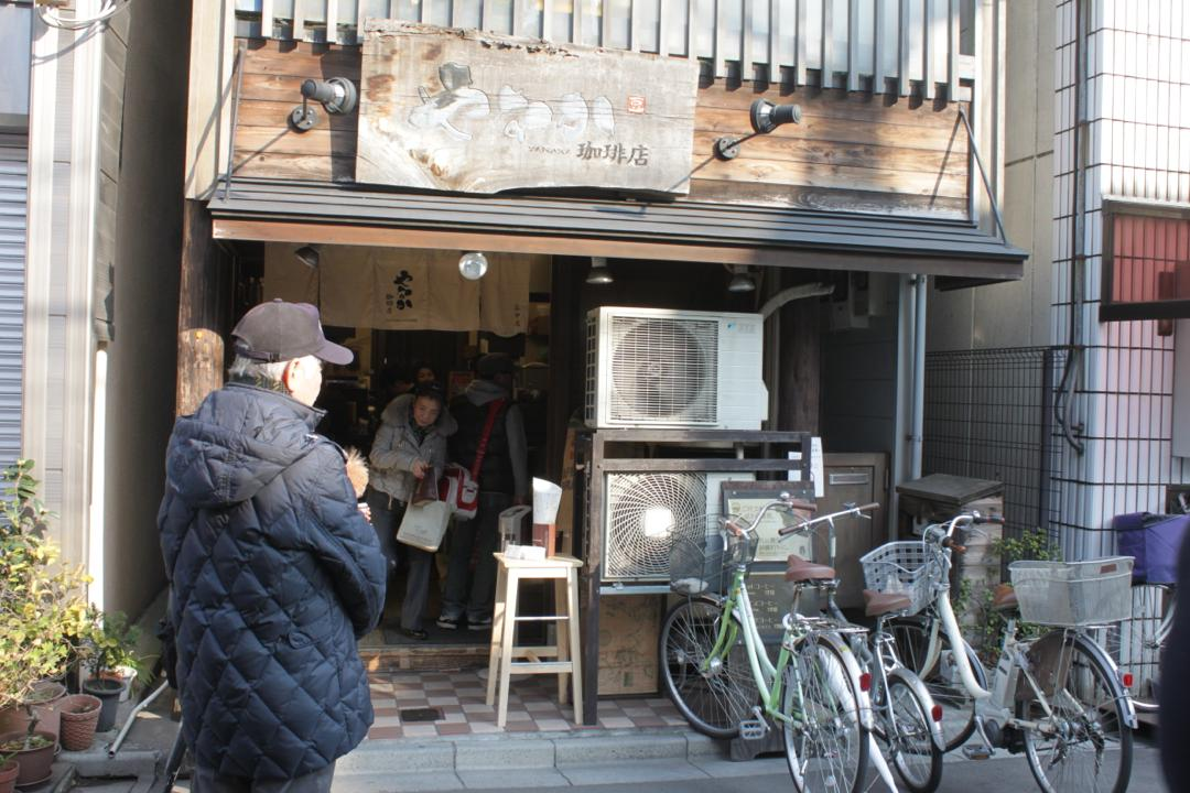 谷中銀座の喫茶店「やなか珈琲」