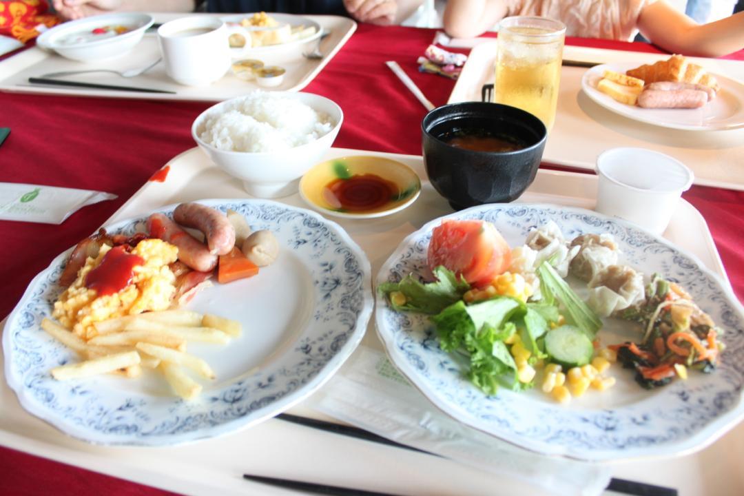 ホテルファミールの朝ご飯