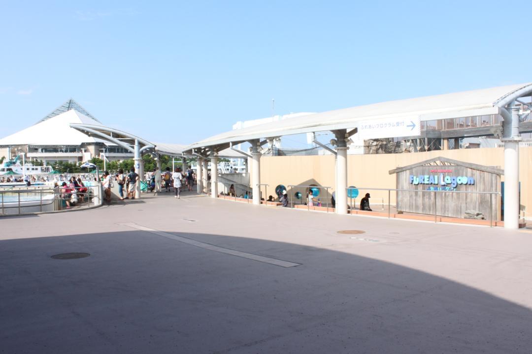 横浜八景島シーパラダイスのふれあいラグーン