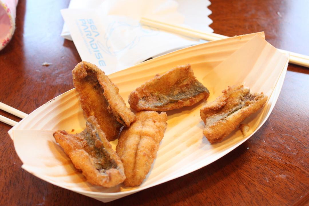 横浜八景島シーパラダイスの海ファームで食べる揚げたてフライ