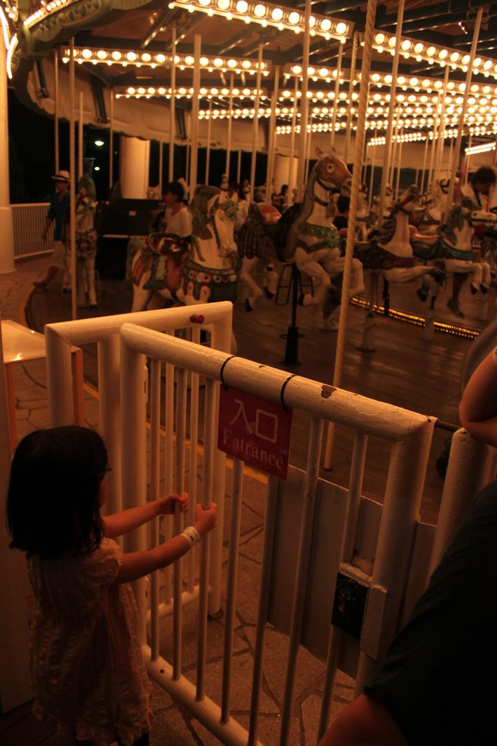 横浜八景島シーパラダイスのメリーゴーラウンド