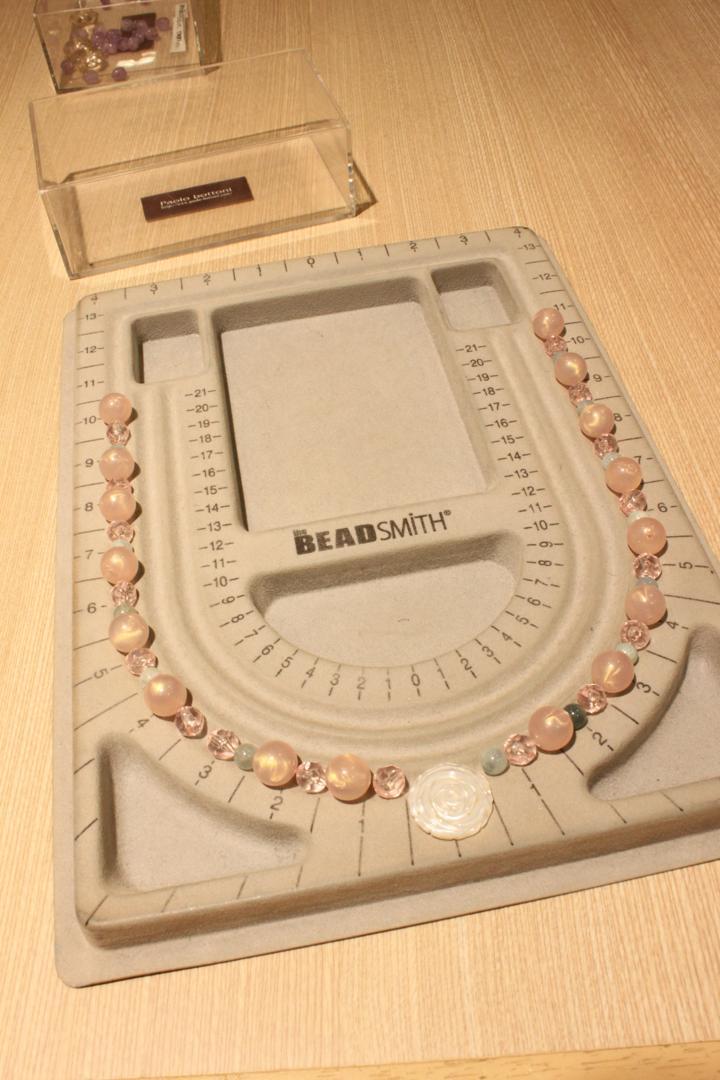 本物の天然石で作るネックレス