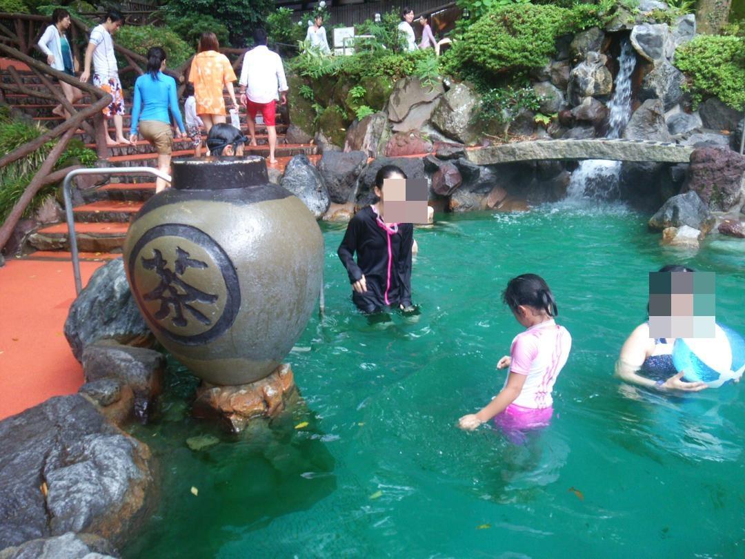 箱根ユネッサンスのお茶風呂