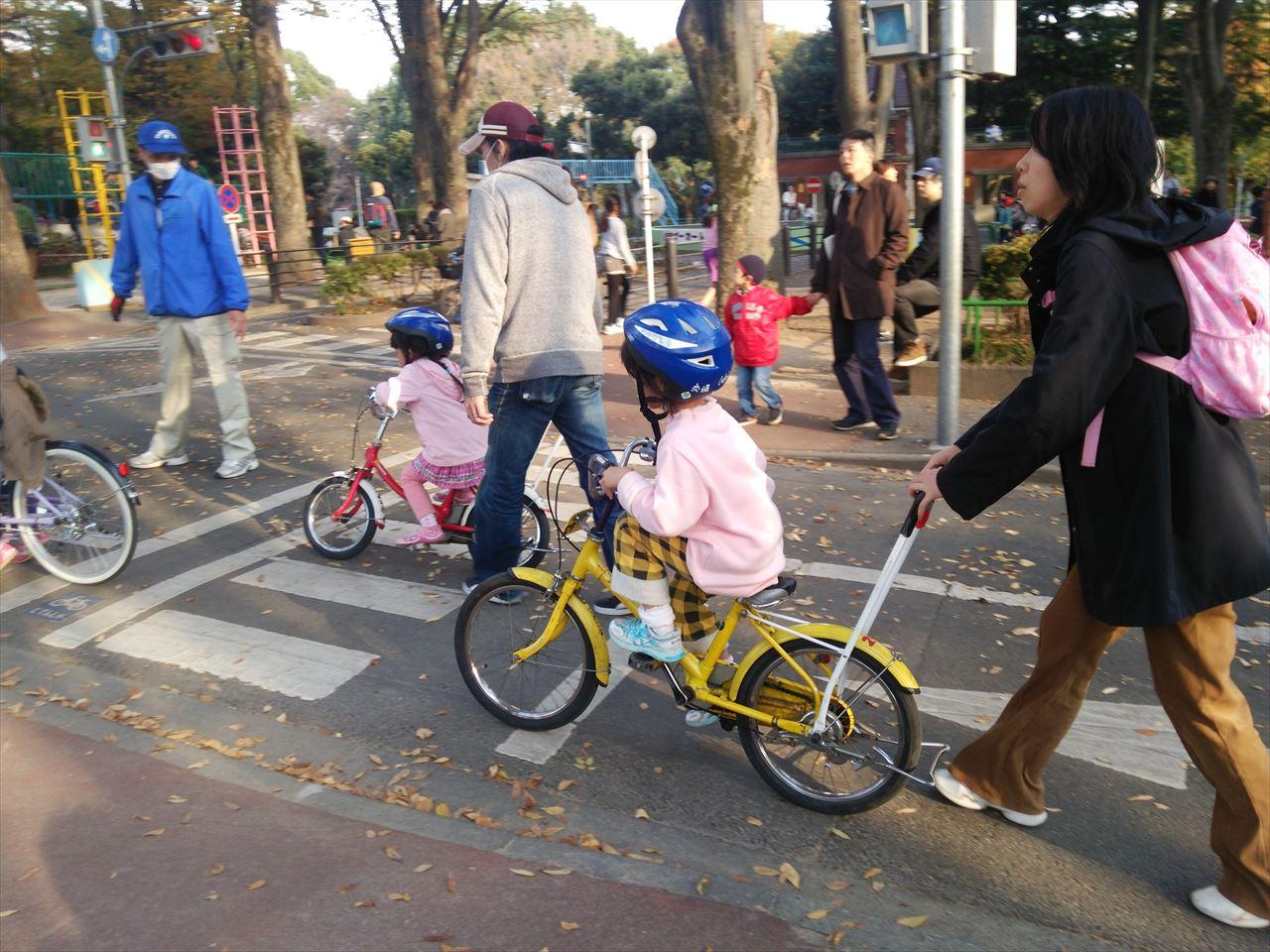 杉並児童交通公園の練習用自転車