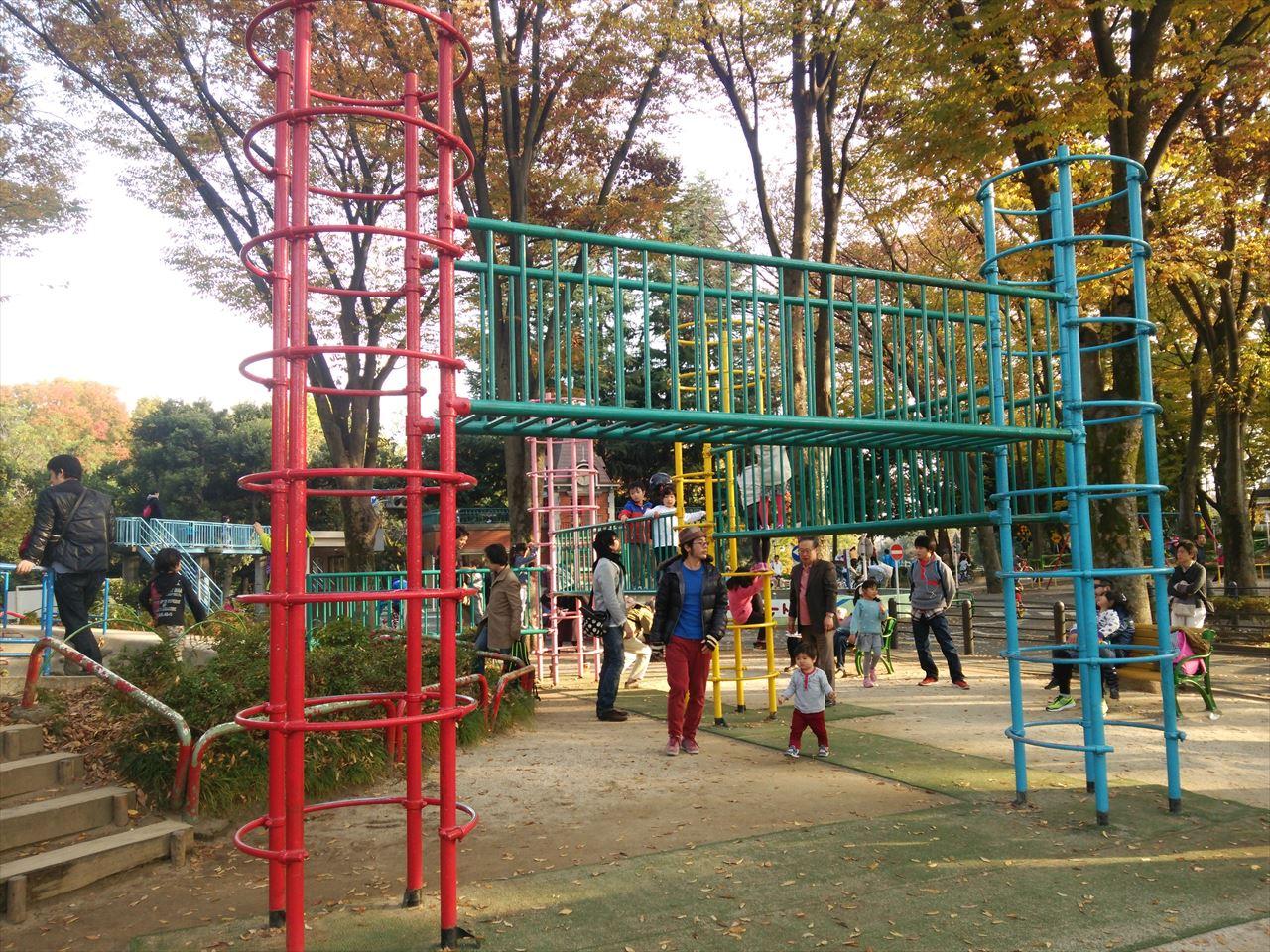 杉並児童交通公園の遊び場