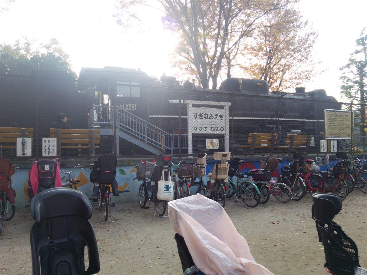 杉並児童交通公園のSL