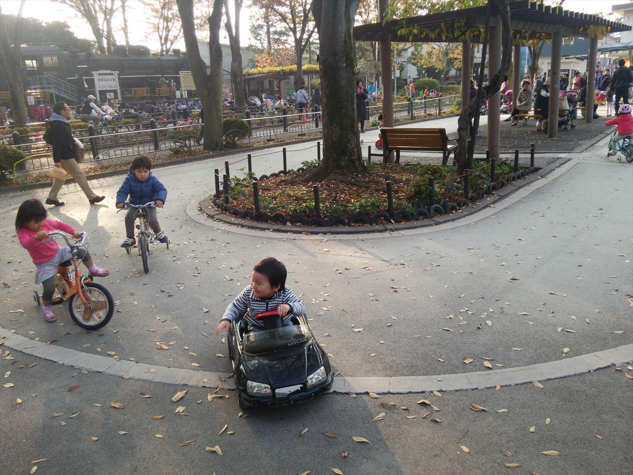 杉並児童交通公園の幼児コース