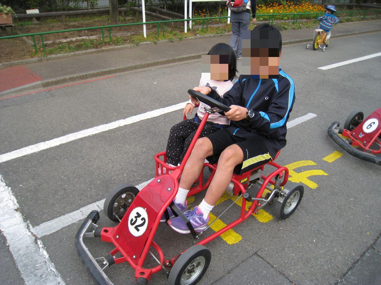 杉並児童交通公園のゴーカート