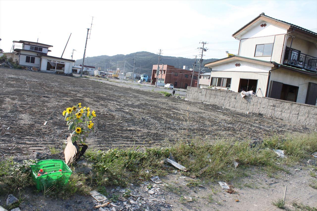 東日本大震災で被害を受けた女川市