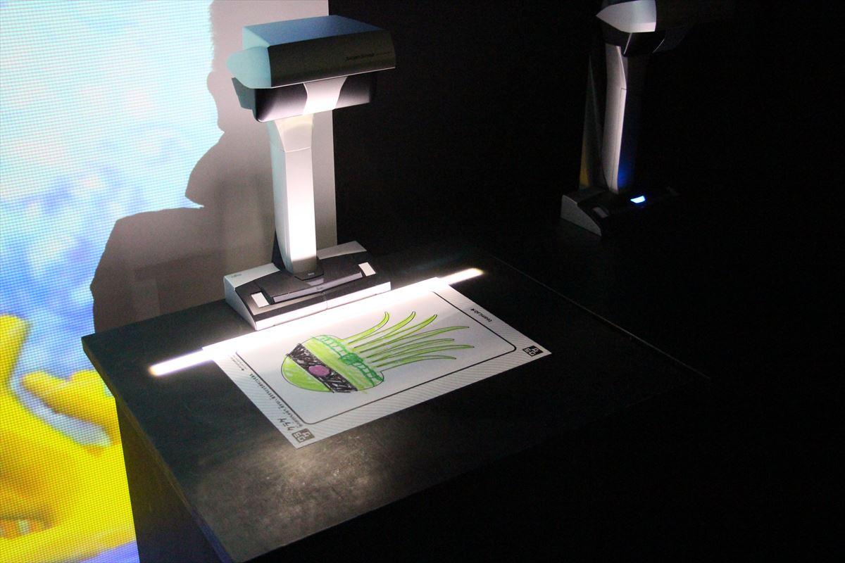 日本科学未来館の特設展示