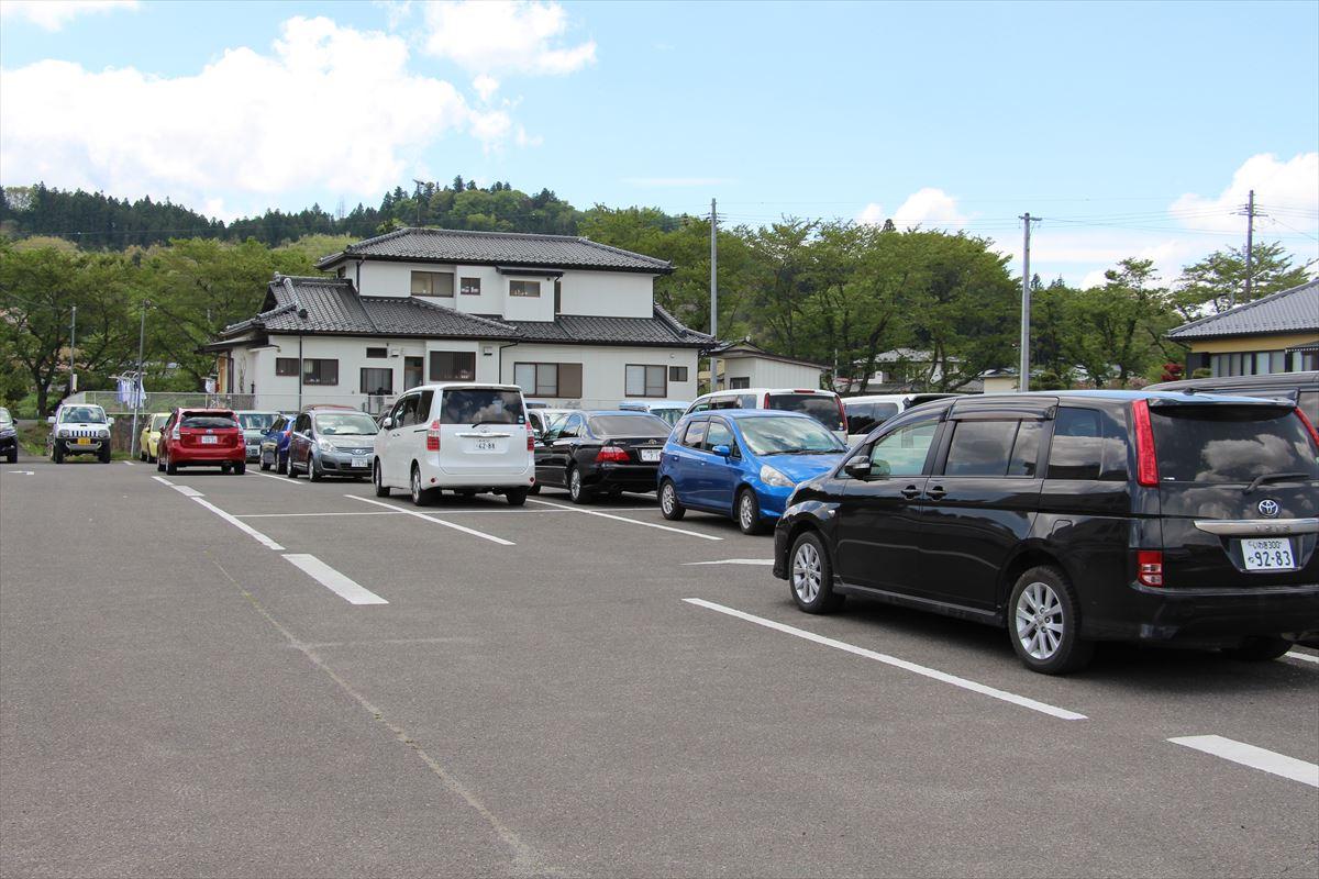リカちゃんキャッスルの駐車場