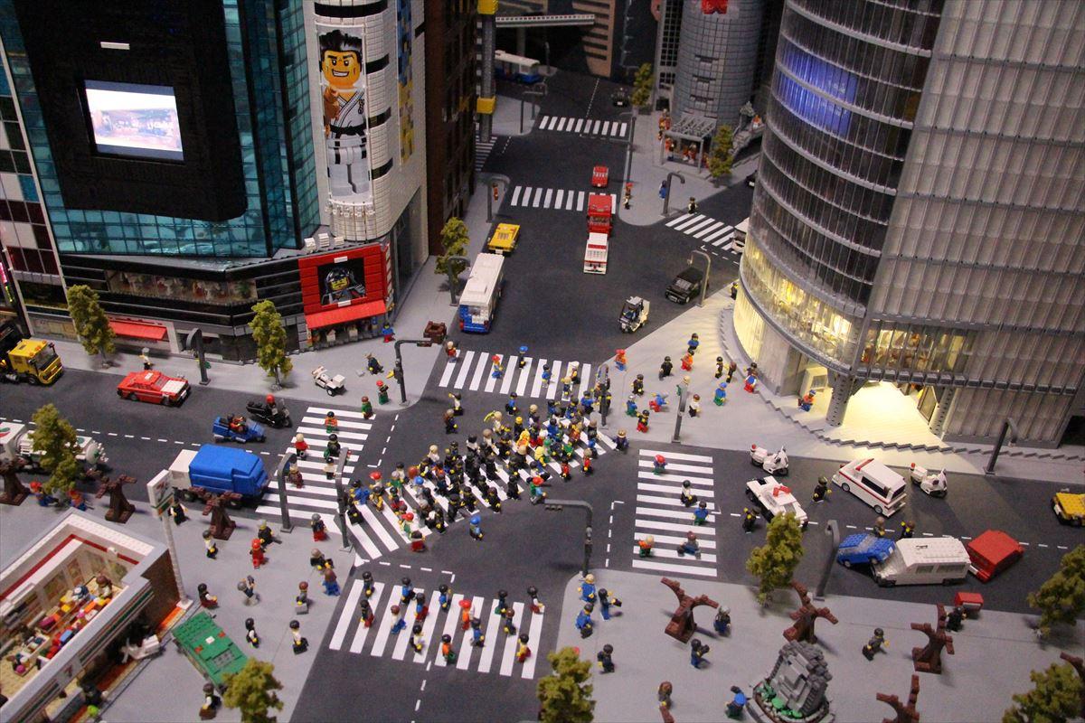 お台場レゴランドのリアルなレゴジオラマ