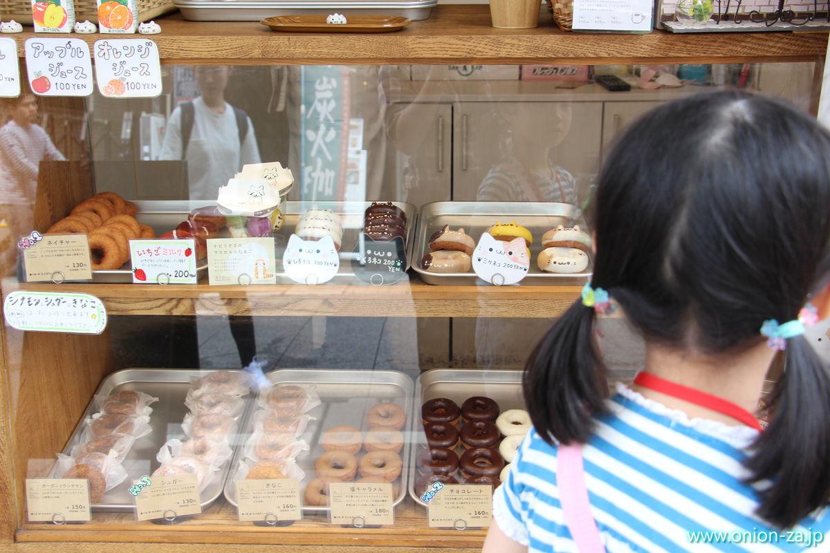 フロレスタ戸越銀座店のドーナッツ