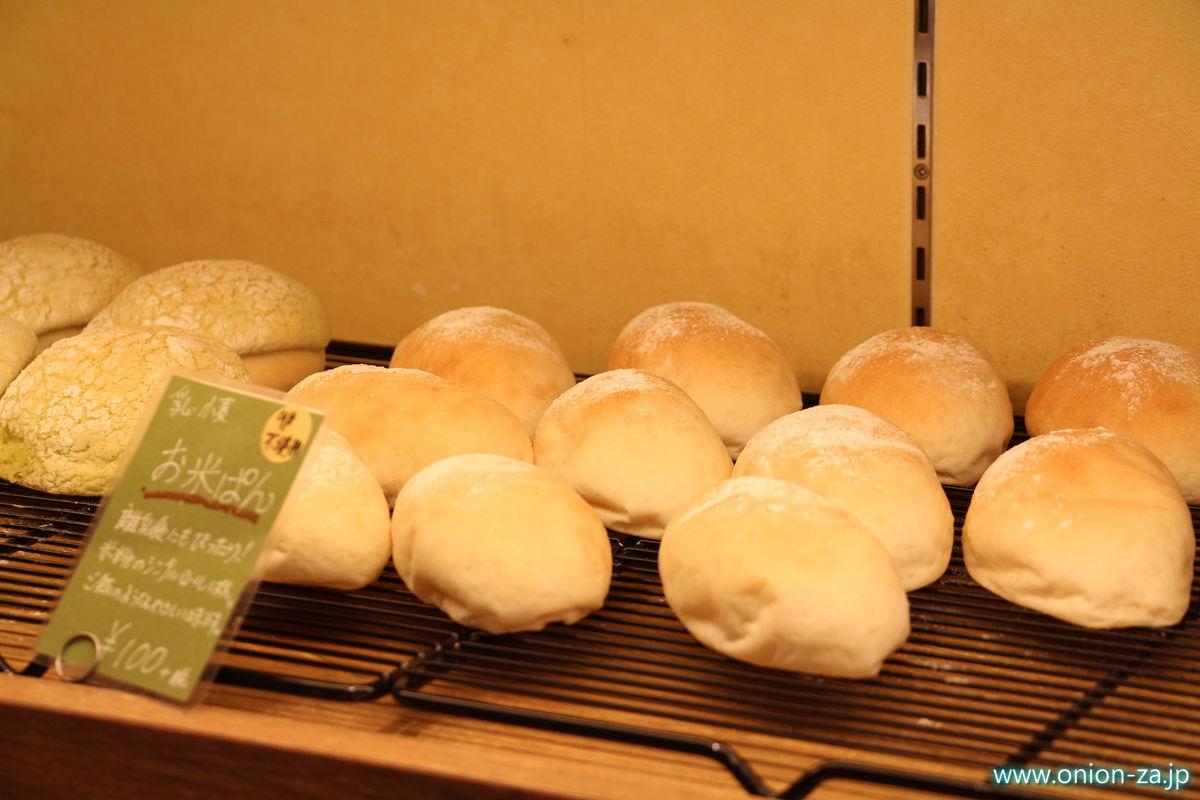 戸越銀座商店街の米パン処「米魂」お米パン