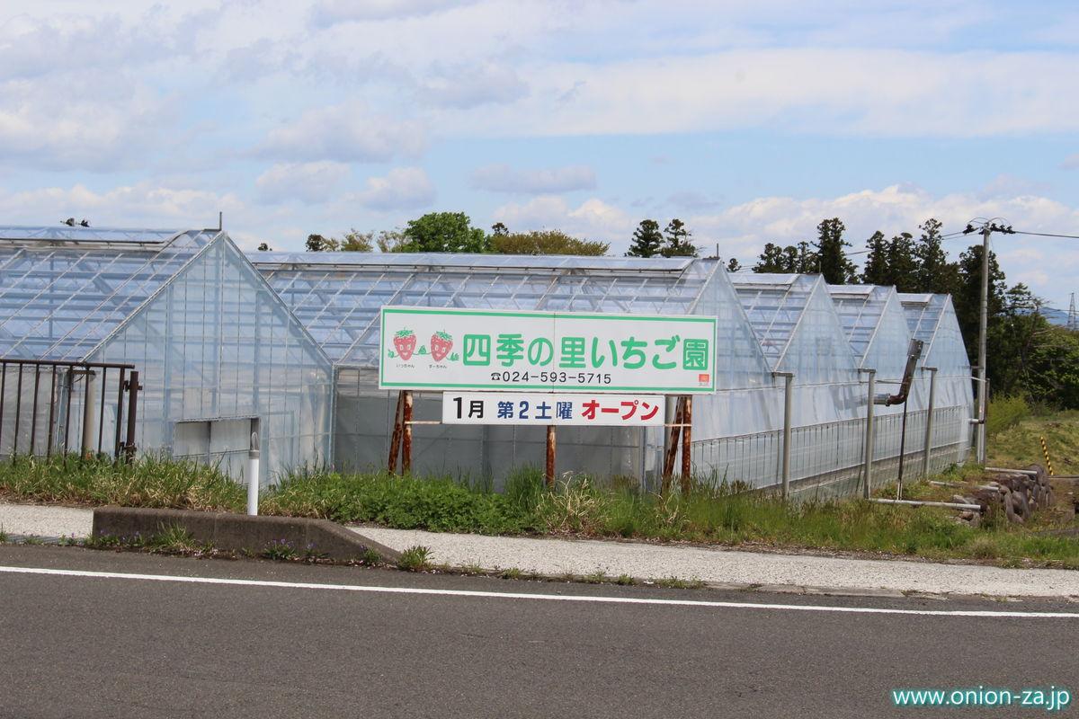 福島県のイチゴ狩り「四季の里いちご園」