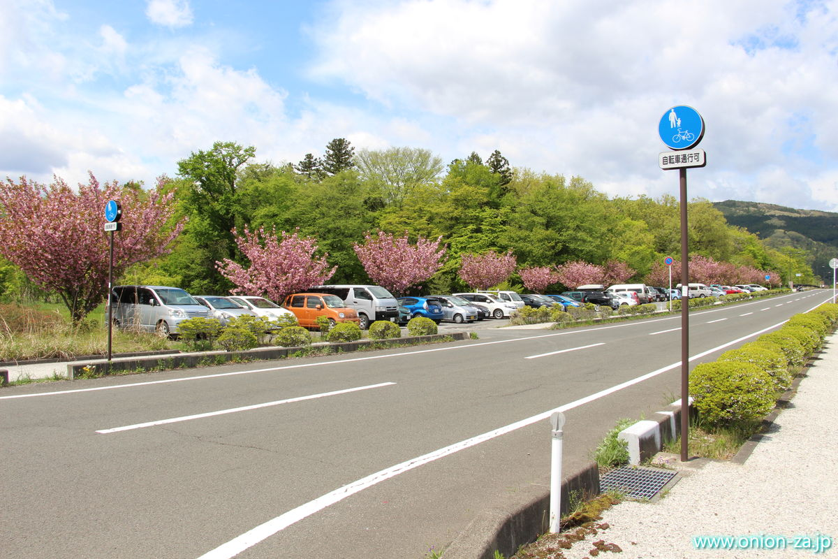 福島県のイチゴ狩り「四季の里いちご園」の無料駐車場