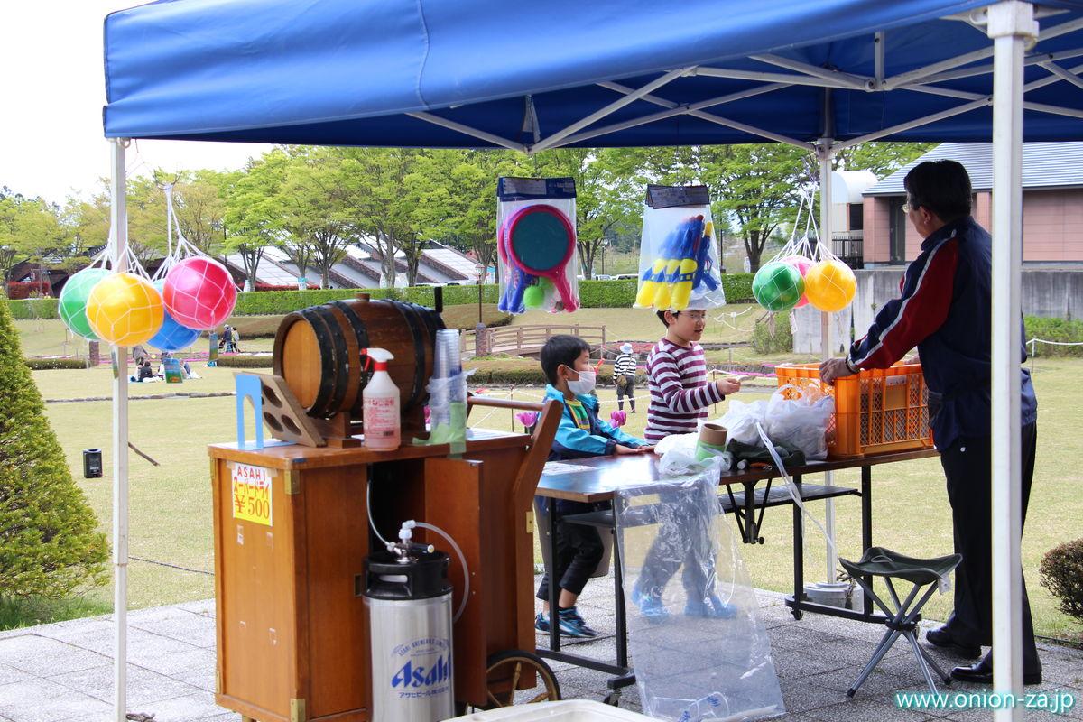 福島県「四季の里公園」では遊具も販売している