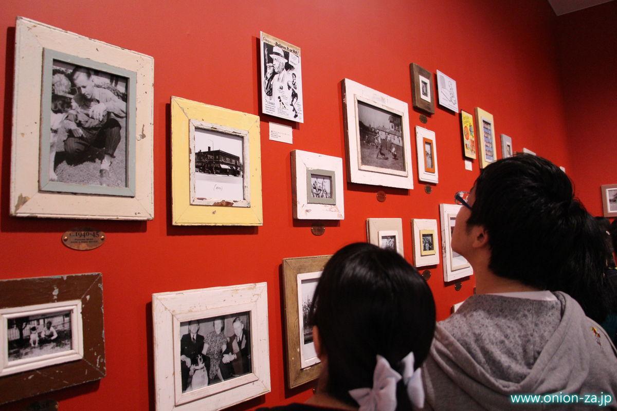 スヌーピーミュージアムのシュルツの写真