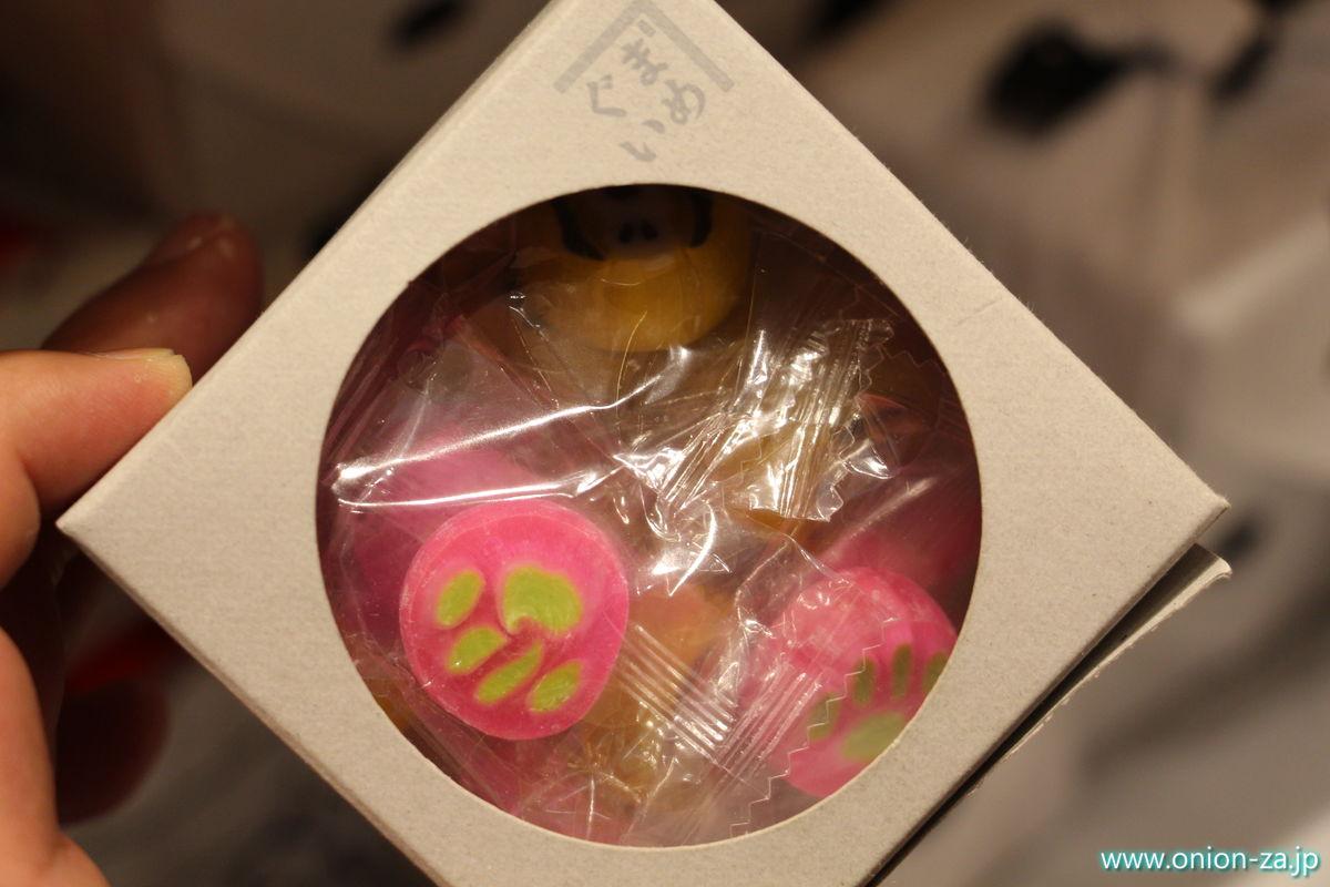 スヌーピーミュージアムのまめぐいキャンディー