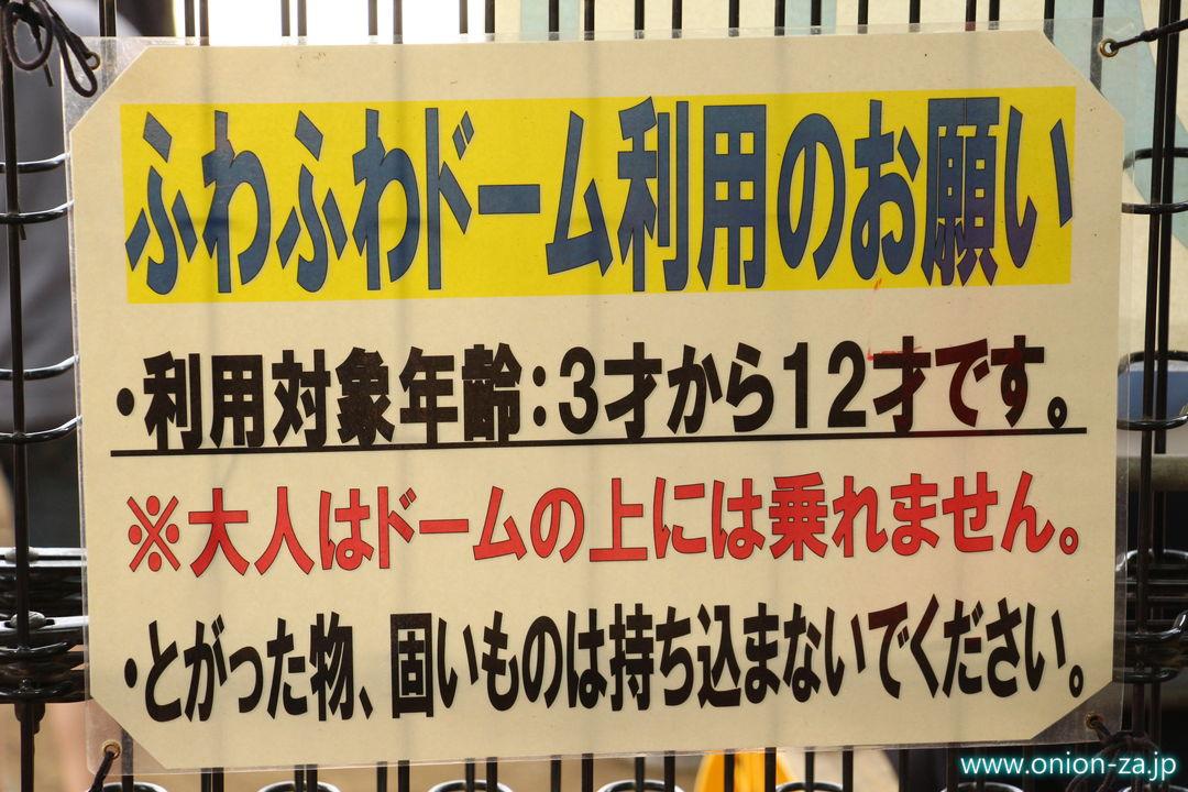 小金井公園のトランポリンふわふわドーム