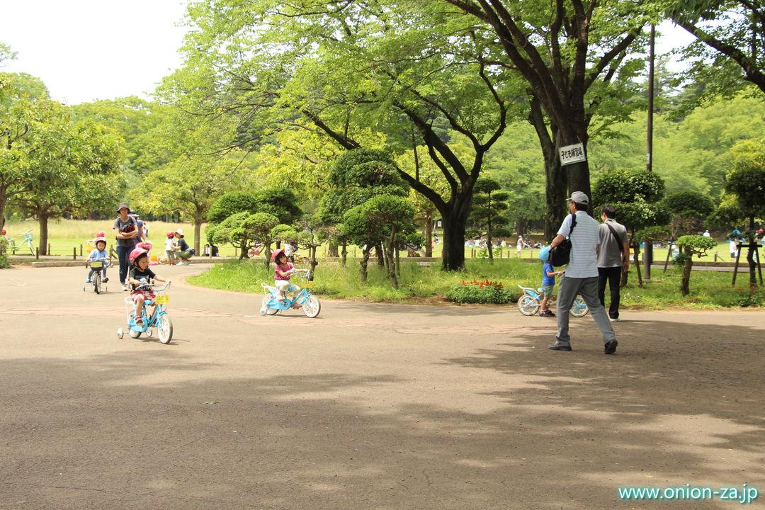 小金井公園サイクリングセンターの子供用コース