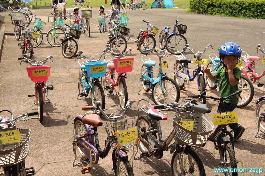 小金井公園サイクリングセンターのレンタルサイクル