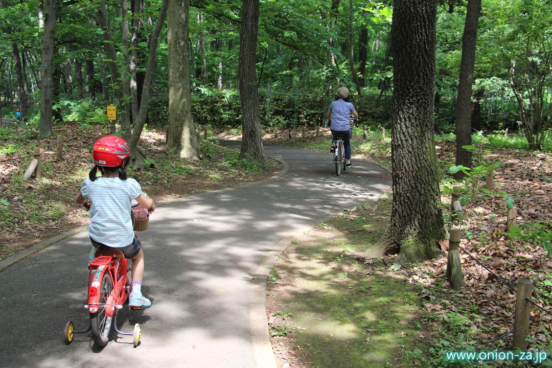 小金井公園サイクリングコースの普通コース