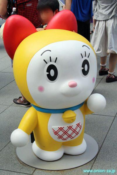 ドラえもんテレビ朝日夏祭りのドラミちゃん