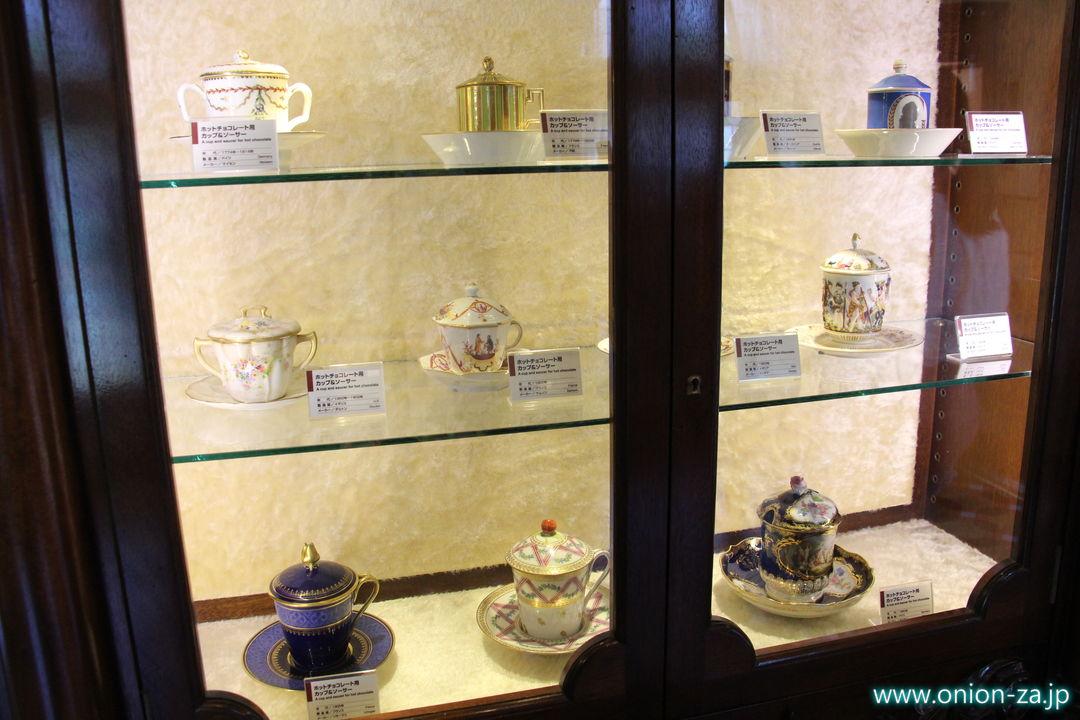 北海道にある白い恋人パークにある「チョコレートカップのお部屋」