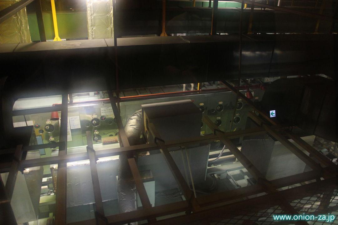 北海道にある白い恋人パークの工場見学「クッキー製造工程」