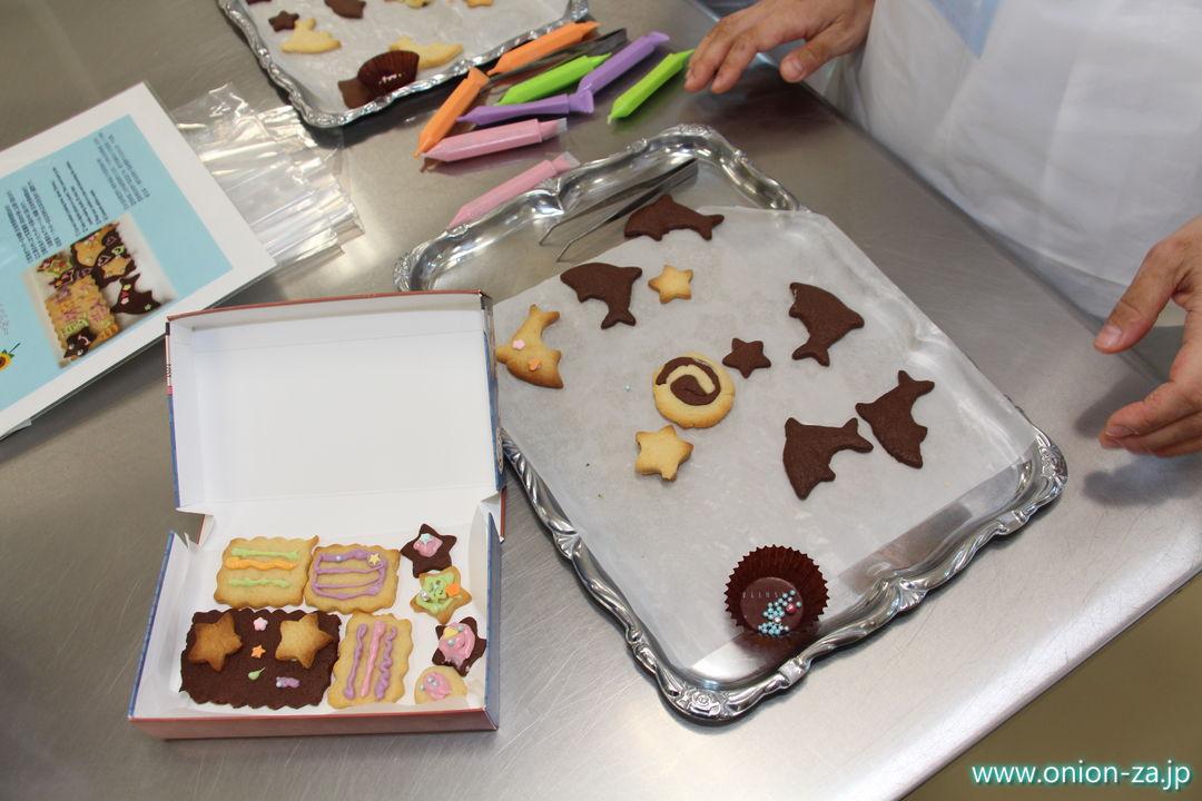 白い恋人パークのお菓子作り体験工房で余ったクッキー